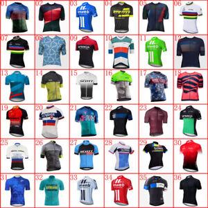 2021 Mens Team Cycling Jersey Cycling Short Sleeve Top Bike Shirt Bicycle Jersey
