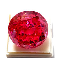 178 Ct. Beautiful Natural Pink Color Zircon Round Shape Loose Gemstone>GS22
