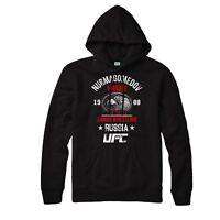Khabib Nurmagomedov HoodieTHE EAGLE Top MMA UFC Unisex Adult & Kids Hoodie Top