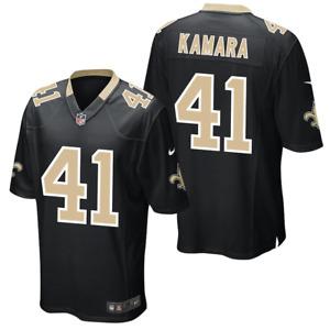 New Orleans Saints Jersey Nike Men's NFL Home Game Jersey - Alvin Kamara - New