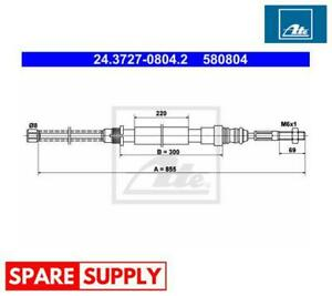 CABLE, PARKING BRAKE FOR PEUGEOT ATE 24.3727-0804.2