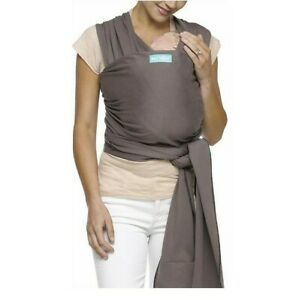 Moby Classic Baby Wrap (Slate) - Baby Wearing Wrap for Parents On The Go-Baby
