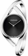 Calvin Klein Women's K8U2S111 Party 28mm Black Dial Stainless Steel Watch