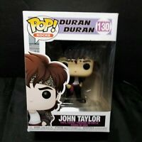 Duran Duran #130 - John Taylor - Funko Pop! Rocks New corner Damage