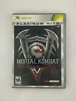Mortal Kombat: Deadly Alliance - Original Xbox Game - Complete & Tested