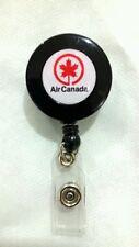 Air Canada YO YO ID Card Badge Holder Retractable Reel Lanyard AC Logo