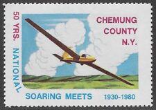 Usa Cinderella: Chemung County, Ny National Soaring Meets, 1930-80 - dw885.29