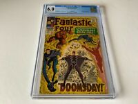 FANTASTIC FOUR 59 CGC 6.0 INHUMANS DOCTOR DOOM SILVER SURFER MARVEL COMICS 1967