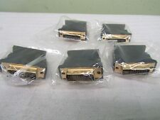 nDVI-I(24+5) Dual Link Male to HD15(VGA) Female Adapter Gold Plated