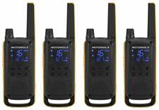 Motorola Talkabout T82 Extreme PMR446 2-Way Walkie Talkie Radio Quad Pack - Yellow/Black