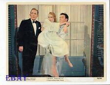 Grace Kelly Frank Sinatra Bing Crosby  Vintage Color Card High Society