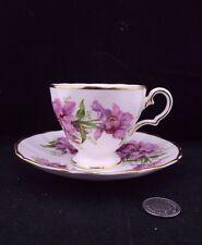 GROSVENOR BONE CHINA CABINET TEA CUP AND SAUCER