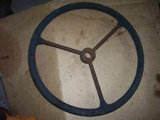 Vintage Ji Case Vac Tractor Steering Wheel 1946