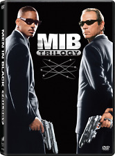 Men In Black Complete Will Smith Movie Series Trilogy 1 2 3 Box / Dvd Set
