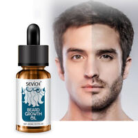 Natural Organic Face Beard Oil 20ml Hair Growth Nourishing Hair Loss Products