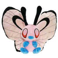 Pokemon Pink Shiny Butterfree Farci Doux Peluche Jouet Poupée