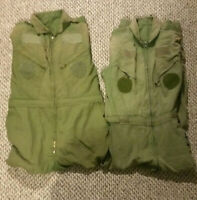 Lot Of 2 Canadian Air Force Flight Suit Coveralls RCAF Spring Sale Sz 7344