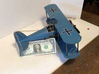 "Airplane US Army Lockheed-Martin P38J Lightning Marge 11.75/""  Wood Model Aircraf"