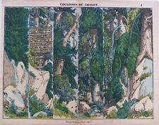 Imagerie populaire, Gangel, Metz, Coulisses du chalet, 1840-52 Décor de Théâtre