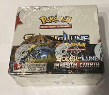 Display Pokémon Sl4 Invasion Carmin neuf Scellé avec Pokeball