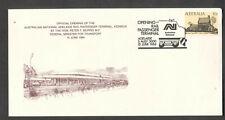 Australia 1984 train cachet cover Adelaide Rail Passenger Terminal Keswick