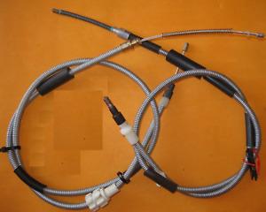 FORD ESCORT Mk3 (1980-4/84) NEW REAR HAND BRAKE CABLES PAIR - BC2001,BC2014