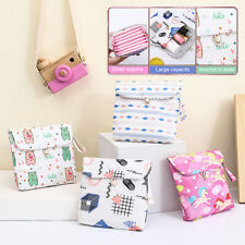 Women Girls Cute Sanitary Pad Organizer Holder Napkin Towel Storage Bags Grace