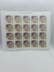USA SCOTT 4494 RONALD REAGAN FOREVER STAMPS SHEET OF 20 REF#3038