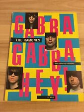 RAMONES - GABBA GABBA HEY! BOOK ULTRA RARE 1981 illustrated biography by Miles