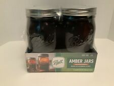 BALL 69046 32oz Wide Mouth Anti-UV Jars - 4 Pieces
