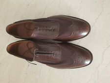 Allen Edmonds Strawfut 14 E wide brown USA made with defect