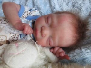 GORGEOUS Reborn baby BOY Doll - MICK by ADRIE STOETE  -  PREEMIE