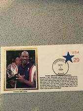 MICHAEL JORDAN Cachet 1994 FIRST DAY ISSUE Jordan Retires 29 cents