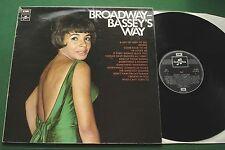 SHIRLEY BASSEY Broadway BASSEY's Way Inc qui je peux tourner à + SCX 6515 LP