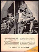 1943 WWII USMC US Marine Barracks, Quantico VA Virginia Marines Kodak AD