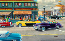 Puzzle When we were young, 1000 Teile, USA, Oldtimer, Autos, Amerika, Sunsout