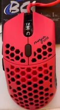 MUST GO!!Finalmouse Air58 Ninja Gaming Mouse  - Cherry Blossom Red wHyperglides