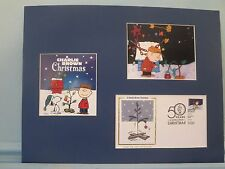 Peanuts & Snoopy -  Charlie Brown Christmas Tree & First Day Cover of its stamp