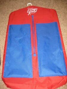 "EC Wrap pack red blue wrap paper rolls ribbon protector organizer bag 35"" L"
