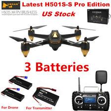 Hubsan X4 H501S Pro FPV Drone Brushless 1080P RC Quadcopter Follow Me GPS RTF US