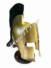 300 Movie Helmet Sparta Spartan King Leonidas Helmet Wearabl + Free Helmet Stand