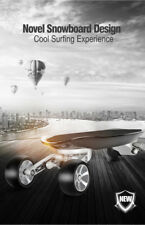 Silver Hawk Emoto USA Fast Strong remoted controlled carbon Electric Longboard