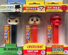 Funko POP! Pez Hasbro Retro Toys Set of 3 - Monopoly Operation Rock Em In-Hand!