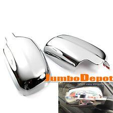 Fit For 98-04 VW JETTA GOLF MK4 PASSAT B5 Chrome Side Door Full Mirror Cover L&R