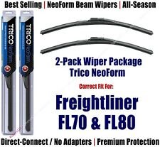 2pk Super-Premium NeoForm Wipers fit 1991-2005 Freightliner FL70 FL80 16240x2