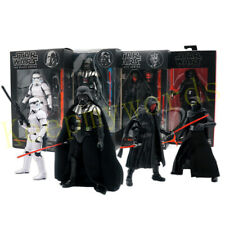 "Star Wars Black Series 6"" Action Figure Kylo Ren Darth Vader Maul Stormtrooper"