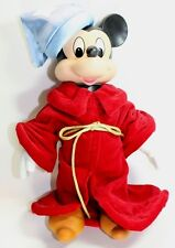 Disney Mickey Mouse Porcelain Doll The Scorcerer 10 Inches Tall