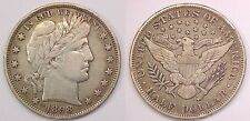 1898 P Barber Half Dollar Extremely Fine XF