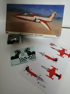 Hasegawa F104G Starfighter 1/48 + decals special color + seggiolino in resina