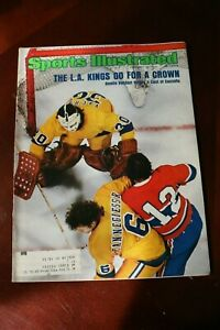 Sports Illustrated February 10, 1975 L.A. Go for Crown Kings - Vachon